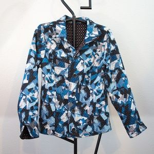 Beautiful Quilted Patchwork Reversible Jacket
